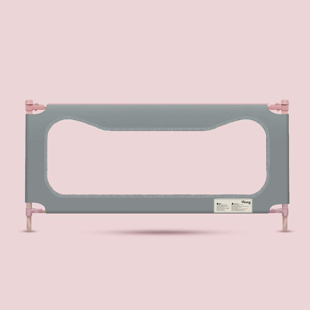 子供のガードレールベビーベッドバッフル垂直リフトユニバーサルベッドフェンス JSFQ (Color : Single Gray200cm)  Single Gray200cm B07TB7DBNQ
