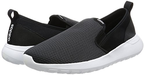 Adidas neo Cloud Mousse Lite Racer So Baskets Chaussures aw4187, 42 2/3, Core Black/DGH Solid Grey