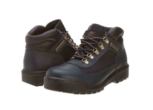 Timberland Mens Field Lace-Up Boot Black/Navy