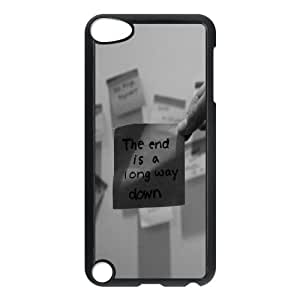 The End Is A Long Way Down Typography 0 iPod TouchCase Black Gift pjz003_3187504