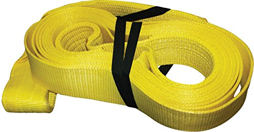 S-Line 900-430 Recovery Strap with Twisted Loops, 100% Nylon, 4-Inch by 30-Feet