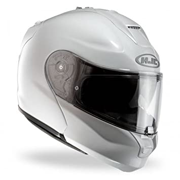 HJC Rpha max evo casco para Moto metal, color blanco, talla XL