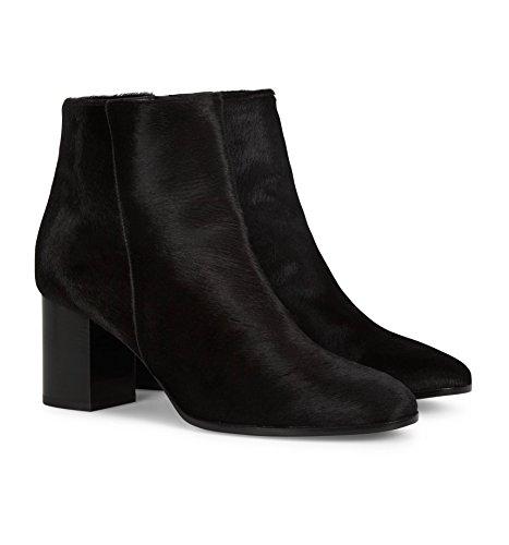 b4ballerinas Black Ponyhair Ankle Boots mTJ65h7rtO
