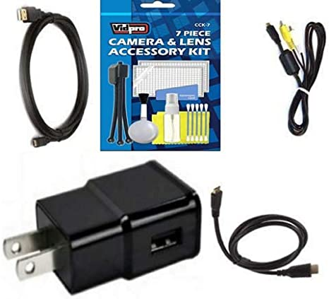 USB cable and HDMI cable for Olympus TRAVELLER SH1