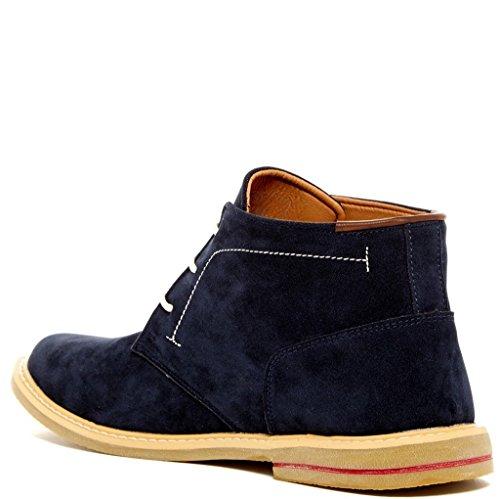 Giraldi Ravel Mens Fashion Chukka Boots Navy