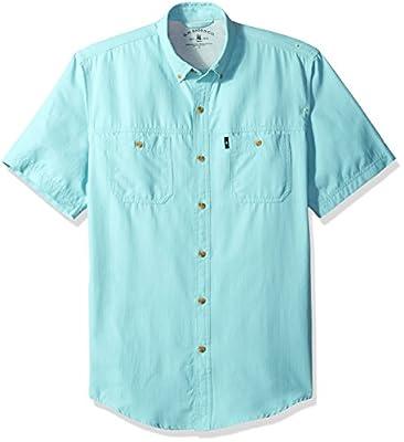 Bass Men's Explorer Fancy Short Sleeve Plaid Shirt