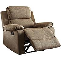 ACME Furniture Acme 59527 Bina Recliner, Tan, One Size