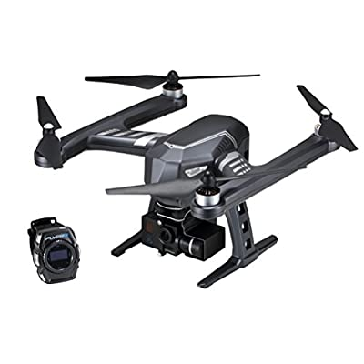 Tinksky XEagle FPV with 4K HD Camera with Gimbal/ XWatch Aerial Photography RTF Sport Version RC Quadcopter Drone Great Christmas Gift (Black) from Tinksky
