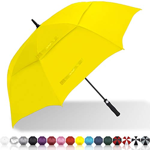 Vedouci Large Oversize Golf Umbrella Double Canopy Vented Windproof Stick