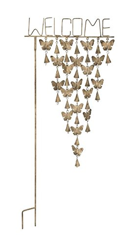 Deco Metal Butterfly Garden Stake