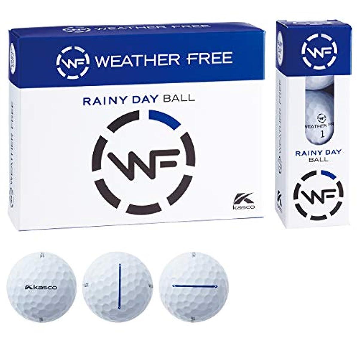 [해외] 카스코(KASCO) 골프 볼 WEATHER FREE weather 프리