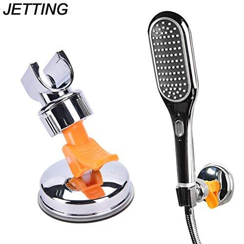 Hand Shower Parking Bracket - Universal Bathroom Moving Shower Hand Head Holder Bracket Mount Suction Cup