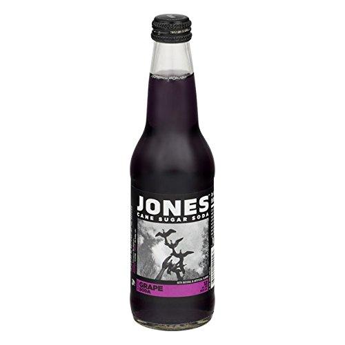 Jones Grape Soda, 12 Ounce (12 Glass Bottles)