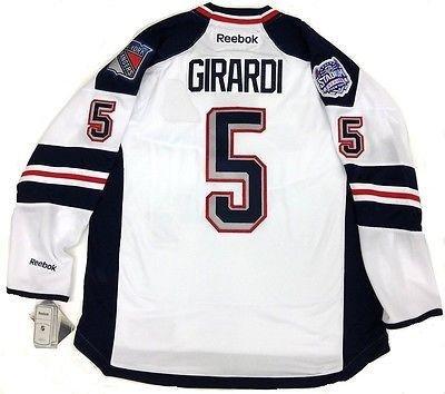 66c6961d73e Signed Dan Girardi Jersey - Stadium Series Reebok Nhl Premier - 5 at ...