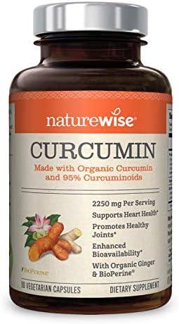 NatureWise Curcuminoids BioPerine Absorption Cardiovascular product image