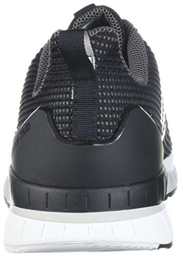 Adidas hombre  Questar TND corriendo zapatos Core Negro / blanco / gris 5