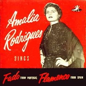 Amalia Rodrigues Sings Fado From Portugal, Flamenco From Spain by angel