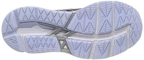 Chaussures 13 020 Multicolore dark black Femme Asics foundation Grey Running De Gel 0PwEqxqFt