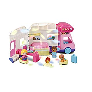 VTech Toot-Toot Friends Moonlight Campervan, Toy Kids Car with Sounds and Phrases, Baby Music Toy with Light Projector for Role-Play Fun, Imaginative Learning Games for Boys and Girls Aged 18 Months +