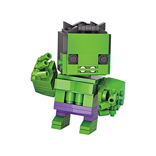 Micro Brickland Green Action Figure Armor Hero Mini-Sized Building Bricks Mini Figure (Last Action Hero Figure)