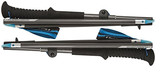 Black Diamond Distance FLZ Z-Poles, Carbon, 95-110cm