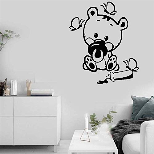 Vinyl Wall Decals Quotes Sayings Words Art Decor Lettering Vinyl Wall Art Little Tiger for Nursery Kids -