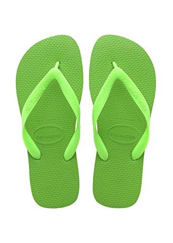Havaianas Top, Chanclas Unisex Adulto Verde (Green Neon/Green Neon 9500)