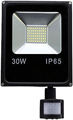 HG® 30W Blanco Cálido Foco proyector LED PIR sensor detección de ...