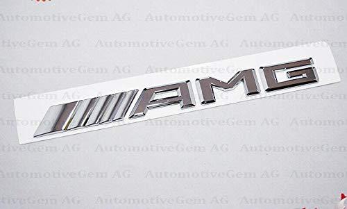 OEM f/ür AMG Emblem Chrom Kofferraum Logo Badge Fit C43 C63 E43 E63 2017