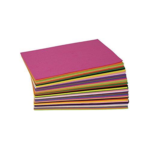 Wonderfoam Sheets - Creativity Street WonderFoam Foam Sheets, 5.5-inches x  8.5-inches, Assorted Colors, 40 Sheets (AC4301)