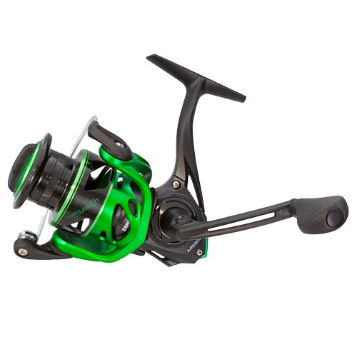 Lews Fishing MS100 Mach Speed Spin Spinning Reel, 6.2: 1 Gear Ratio, 10+1 Bearings, 30
