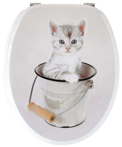 Gelco Design 707616 WC Lid Kitten