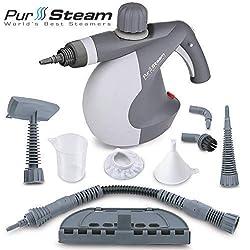 PurSteam's Handheld Pressurized Steam Cleaner – best handheld