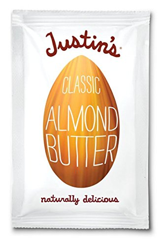 Justin's Nut Butter Natural Classic Almond Butter 10 Count Squeeze Packs, 11.5-Ounce Boxes ()