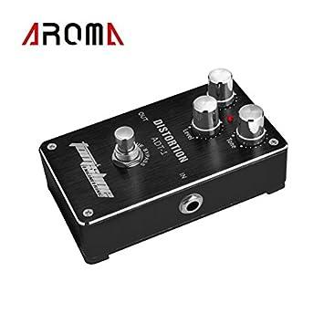 Artans (TM) aroma ADT-1 Distorsión Guitarra Eléctrica Pedal De Efecto Aleación de aluminio carcasa diseño True Bypass Pedal para guitarra: Amazon.es: ...