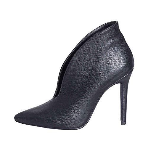 Estudio Made De Creaciones Femeninos Tacón Moda Anp In Alta Alto Tacco Elegante 35 Italy Zapatos Calidad 10 Talla Piel Con Cm 00 Azalea Auténtica Óptima Botas Señoras 8tqxBaZww