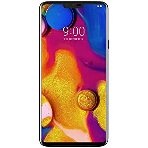 LG Electronics LG V40 Sprint Unlocked Phone – 6.4Inch Screen – 64GB – Aurora Black