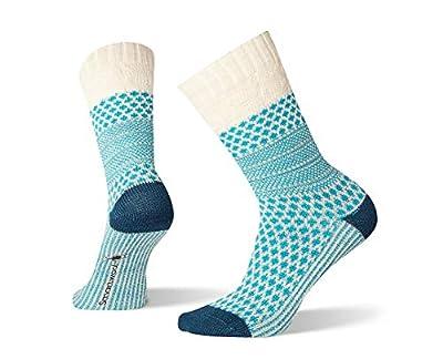 Smartwool Women's Popcorn Cable Crew Socks - Medium Cushioned Merino Wool Performance Socks