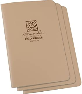 product image for All Weather Notebook, Tan, 48 Sheets, PK3