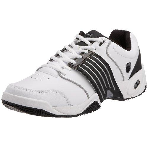 K-Swiss Men's Accomplish II Outdoor Trainer White/Black/Silver xxMDD4jB