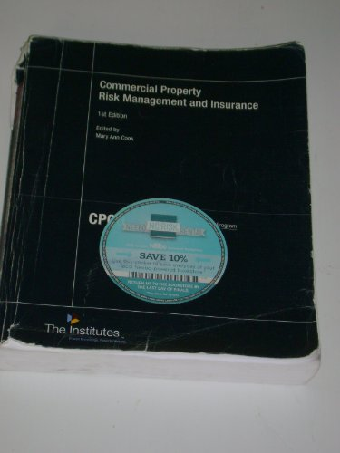Commercial Prop.Risk Mgmt.+Insurance