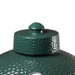 Dracarys brand Ceramic Chimney Cap for big Green Egg. Specification: 6.7 Inch Diameter ×3.9 Inch Height This big green egg ceramic chimney cap is big green egg replacement parts,perfect for medium, large and Xlarge Big Green Egg or other gril...