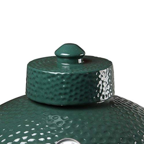 Dracarys Grill Chimney Top Vent Cap Ceramic Damper Top Big Green Egg Accessories, Big Green Egg Parts Replacement for Medium,Large and XLarge Size Big Green - Top Damper Chimney