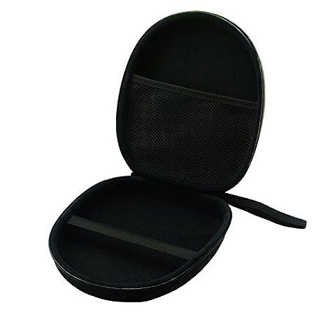 Pixnor Portable auriculares bolso de la caja bolsa funda caja para Sony MDR-ZX100 ZX110 ZX300 ZX310 ZX600 auriculares (negro): Amazon.es: Electrónica