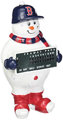 Boston Red Sox Thematic - Sox Boston Red Snowman