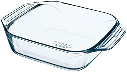 Amazon.com: Pyrex Oven Dish Square 8010667 Optimum Glass ...