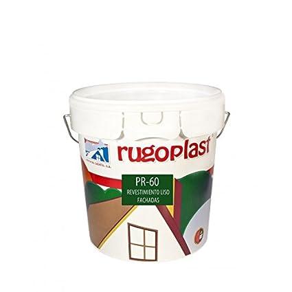 Pintura má xima calidad de exteriores blanca revestimiento liso ideal para decorar las paredes exteriores de tu casa PR-60 Blanco (10 Kg) Enví o GRATIS 24 h. Pinturas Cabello S.A.