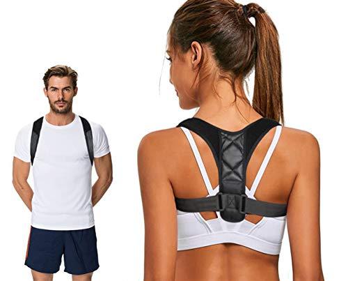 AVENG Posture Corrector for Women Men - Neck Pain Relief Upper Back Brace Shoulder Posture Corrector Men Women Under Clothes Bra Posture Brace Support Back Posture Brace