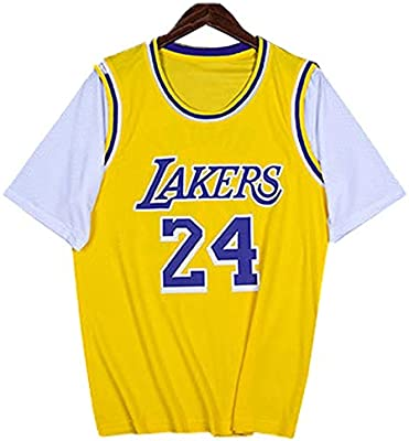 FILWS Camiseta De Baloncesto Kobe Bryant Fake Uniforme De ...