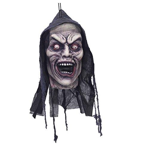 Screamers Halloween Costumes (Screamer Poly Foam Hanging Head Halloween Decoration)